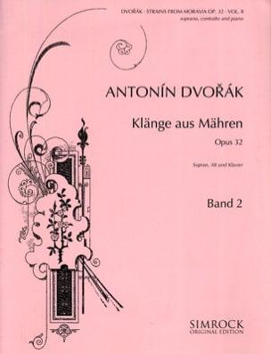 Klänge Aus Mähren Opus 32 Volume 2 DVORAK Partition laflutedepan