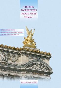 Choeurs d'opérettes Françaises Volume 1 Partition laflutedepan
