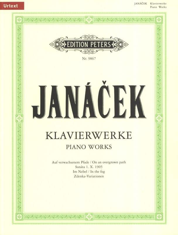 Oeuvres Pour Piano - JANACEK - Partition - Piano - laflutedepan.com