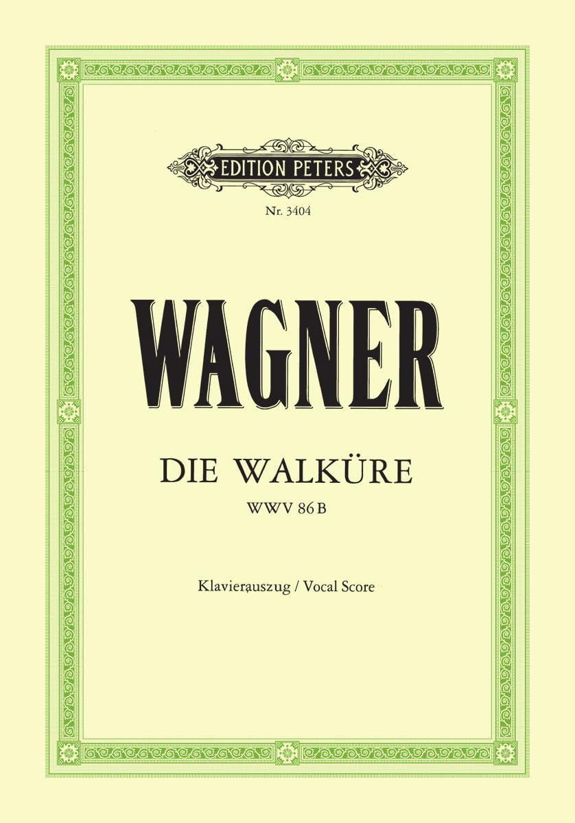 Die Walküre Wwv 86b - WAGNER - Partition - Opéras - laflutedepan.com