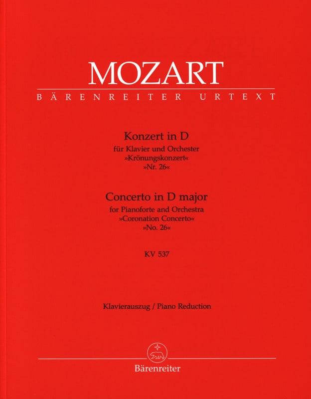 Concerto Pour Piano N° 26 En Ré Majeur K 537 - laflutedepan.com
