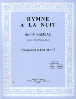 Hymne A la Nuit. Hippolyte et Aricie RAMEAU Partition laflutedepan