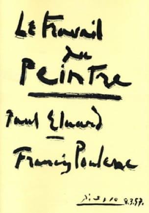 Le Travail Du Peintre - POULENC - Partition - laflutedepan.com