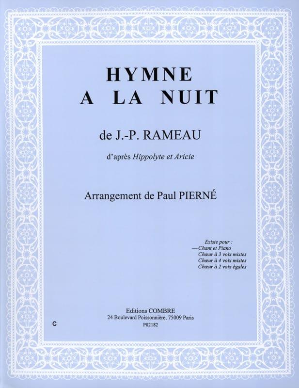 Hymne A la Nuit. Hippolyte et Aricie - RAMEAU - laflutedepan.com