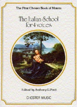 The Italian School For 4 Voices Partition Chœur - laflutedepan