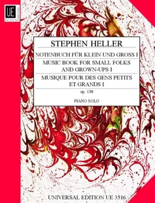 Stephen Heller - Notenbuch Fur Klein Und Gross Op. 138 Volume 1 - Partition - di-arezzo.co.uk