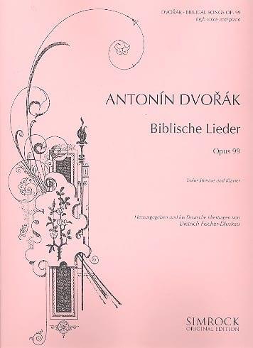 Biblische Lieder Opus 99 Voix Haute Version Fischer-Dieskau - laflutedepan.com