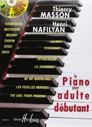MASSON - NAFILYAN - Le Piano pour Adulte Débutant - Partition - di-arezzo.fr