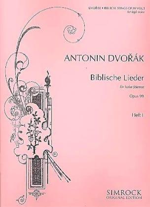 Biblische Lieder Op. 99 Voix Haute Volume 1 DVORAK laflutedepan