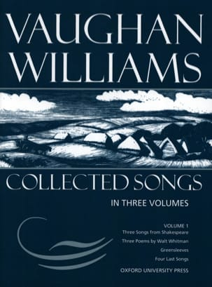 Collected Songs Volume 1 WILLIAMS VAUGHAN Partition laflutedepan