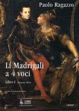 Li Madrigali A 4 Voci Paolo Ragazzo Partition Chœur - laflutedepan