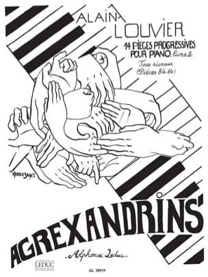 Agrexandrins - Volume 2 Alain Louvier Partition Piano - laflutedepan