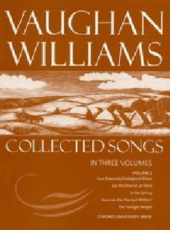 Collected Songs Volume 2 WILLIAMS VAUGHAN Partition laflutedepan