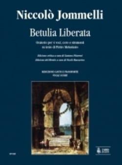 Betulia Liberata Niccolo Jommelli Partition Chœur - laflutedepan