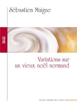 Variations sur un Noël Normand Sébastien Maigne Partition laflutedepan