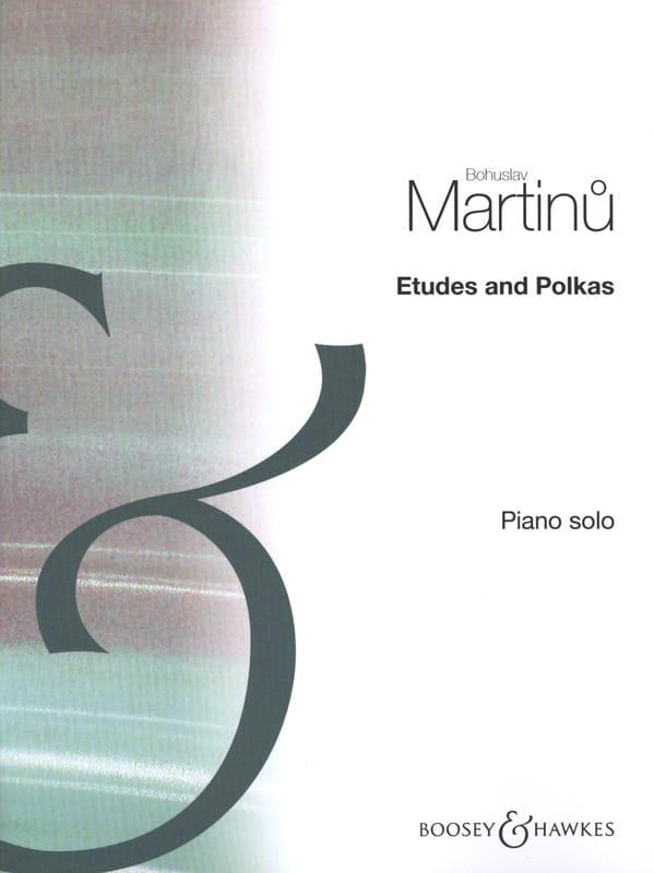Etudes et Polkas - MARTINU - Partition - Piano - laflutedepan.com
