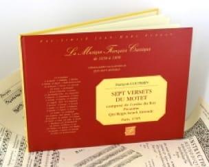 7 Versets Du Motet 1705 - COUPERIN - Partition - laflutedepan.com