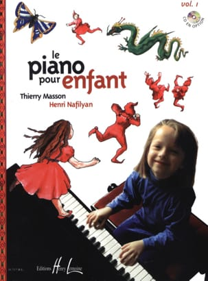 Piano Pour Enfant Volume 1 MASSON - NAFILYAN Partition laflutedepan