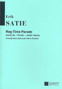 Rag-Time Parade SATIE Partition Piano - laflutedepan