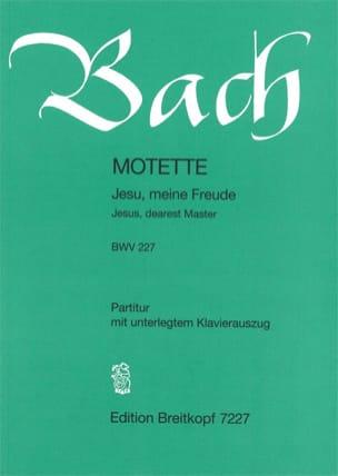 Motette N°3 Jesu, Meine Freude. BWV 227 BACH Partition laflutedepan