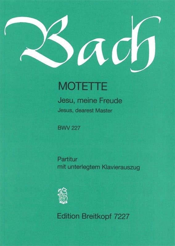 Motette N°3 Jesu, Meine Freude. BWV 227 - BACH - laflutedepan.com