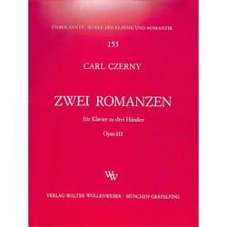 2 Romanzen Op. 111 CZERNY Partition Piano - laflutedepan