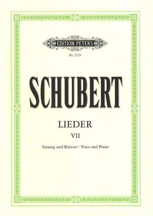Lieder Volume 7 - Ton Original SCHUBERT Partition laflutedepan