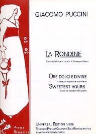 La Rondine : Ore Dolci E Divine - PUCCINI - laflutedepan.com