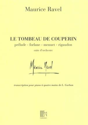 Maurice Ravel - La tumba de Couperin. 4 manos - Partition - di-arezzo.es
