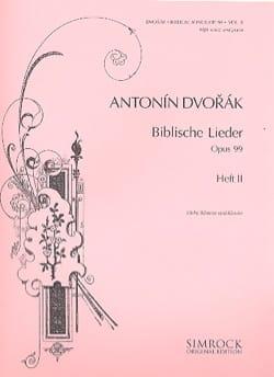 Biblische Lieder Op. 99 Voix Haute Volume 2 DVORAK laflutedepan