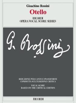 Gioachino Rossini - Otello. Edición Crítica - Partition - di-arezzo.es