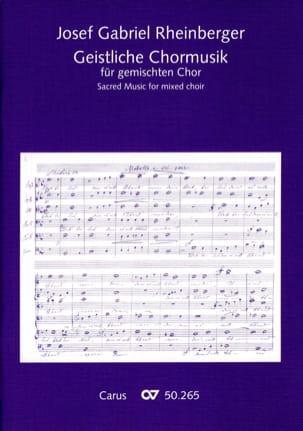 Geistliche Chormusik RHEINBERGER Partition Chœur - laflutedepan
