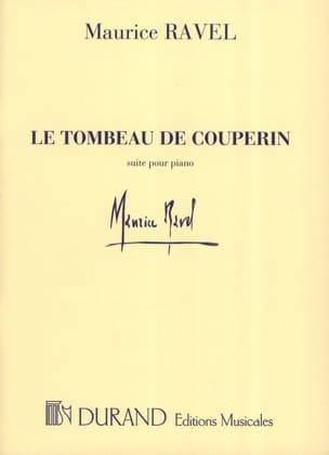 Le Tombeau de Couperin - RAVEL - Partition - Piano - laflutedepan.com