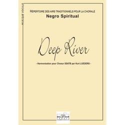 Deep River Traditionnel Partition Chœur - laflutedepan