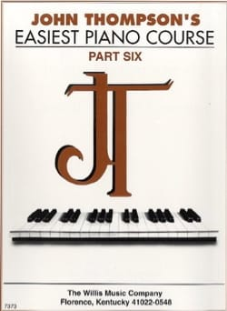 Easiest Piano Course - Volume 6 - John Thompson - laflutedepan.com