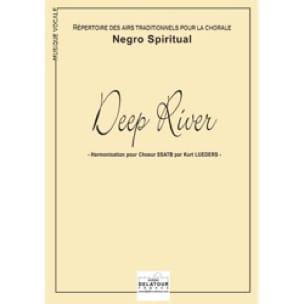 Deep River - Traditionnel - Partition - Chœur - laflutedepan.com