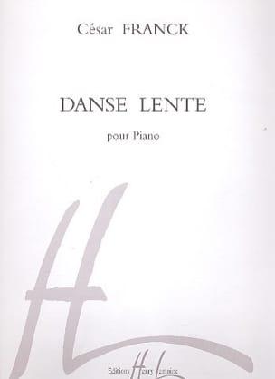 Danse Lente FRANCK Partition Piano - laflutedepan