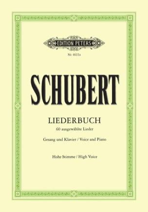 Liederbuch. Voix Haute SCHUBERT Partition Mélodies - laflutedepan