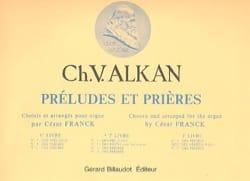 Préludes et Prières. Volume 2 ALKAN Partition Orgue - laflutedepan