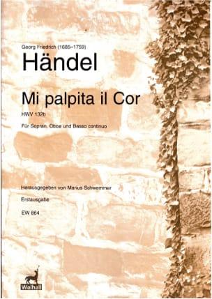 Mi palpita il cor - HWV 132b Georg-Friedrich Haendel laflutedepan