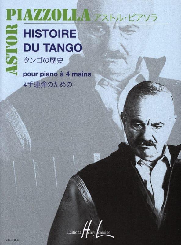 Histoire Du Tango. 4 Mains - Astor Piazzolla - laflutedepan.com