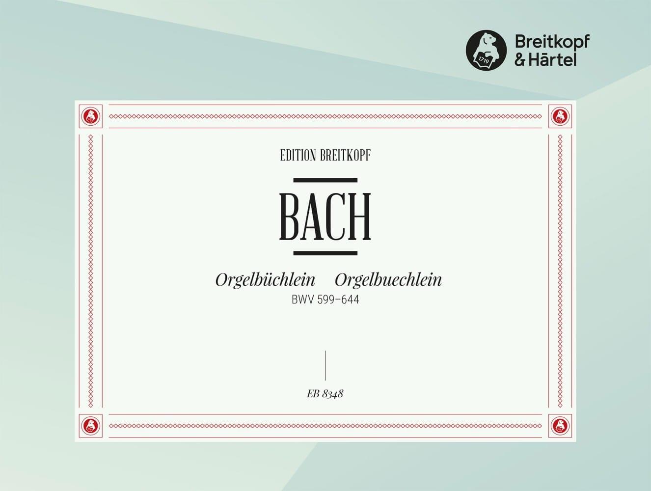 Orgelbüchlein BWV 599-644 - BACH - Partition - laflutedepan.com