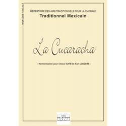 La Cucaracha Traditionnel Partition Chœur - laflutedepan