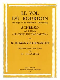 Le Vol Du Bourdon RIMSKY-KORSAKOV Partition Piano - laflutedepan