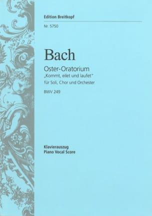 Oster-Oratorium - BWV 249 BACH Partition Chœur - laflutedepan