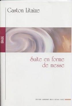 Suite En Forme de Messe Gaston Litaize Partition Orgue - laflutedepan
