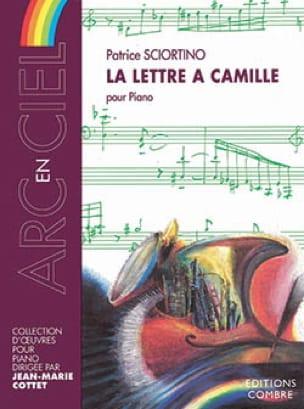 La Lettre A Camille - Patrice Sciortino - Partition - laflutedepan.com