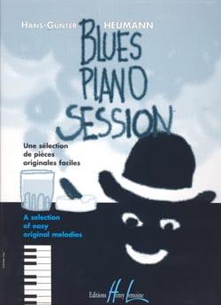 Blues Piano Session Hans-Günter Heumann Partition Piano - laflutedepan