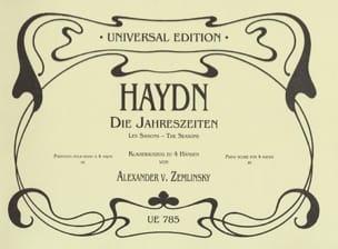 Die Jahreszeiten. 4 Mains HAYDN Partition Piano - laflutedepan