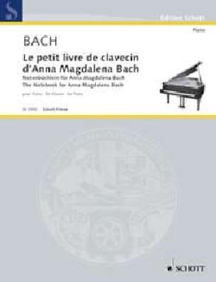 Petit Livre de Clavecin d' Anna Magdalena Bach - laflutedepan.com